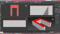 جزوه آموزش ساخت آشپزخانه در 3D Max تری دی مکس